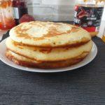 omlet bezglutenowy i bezmleczny